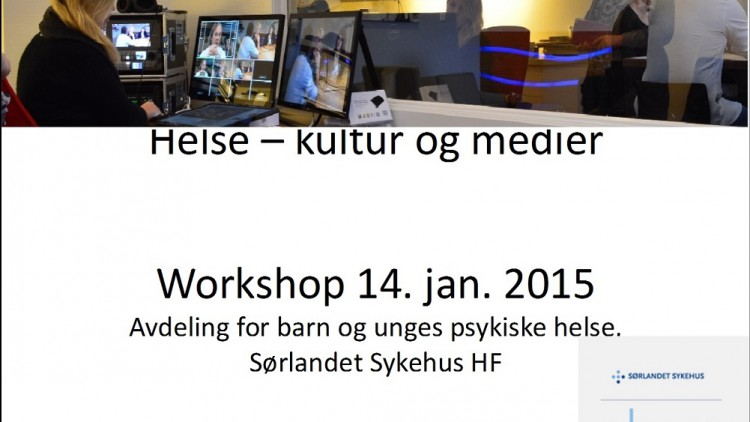 Workshop om helse, kultur og medier